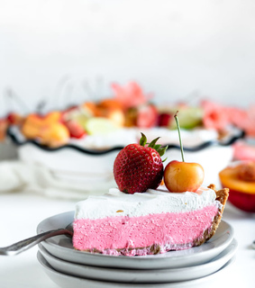 desserts, pie and food