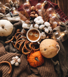 fall, autumn and hygge