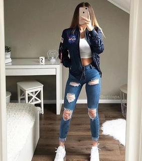 style, outfits and jean
