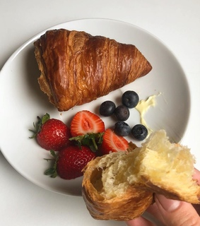 bread, aesthetic and fruit