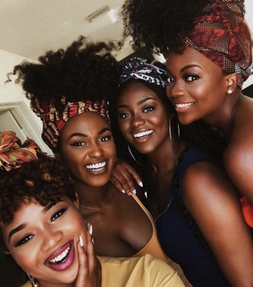makeup, melanin and black women