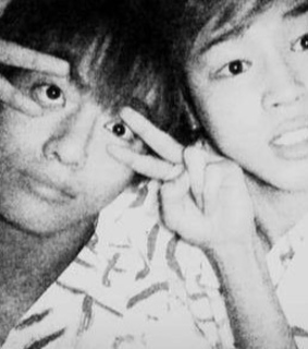 black&white, best friends and selca
