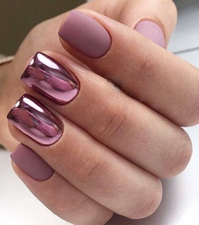 pink, nails and manucure
