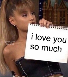 wholesome meme, ariana grande and reaction pic
