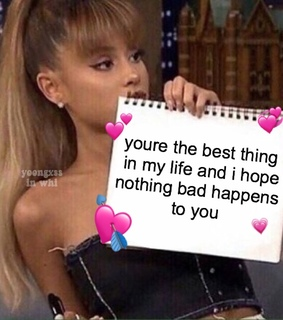reaction pic, ariana grande and wholesome meme