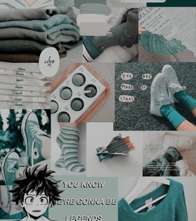 my hero academia, izuku and aesthetic