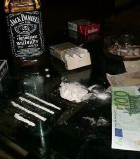 drugs, alcohol and money