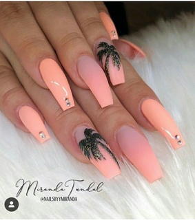 glam nails, nails and summer nails