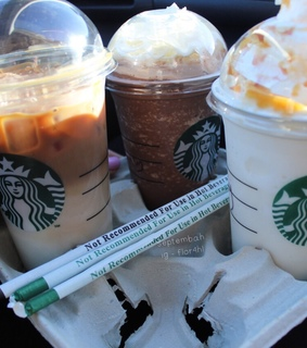starbucks, frappuccino and iced coffee