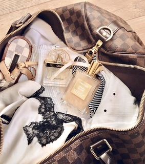 vuitton, cosmetics and vogue