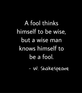 fool, shakespeare and wise