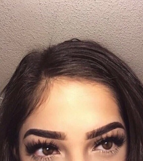 eyes, eyebrows and goals