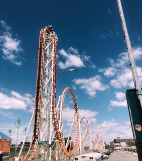 80s, Roller Coaster and carnival