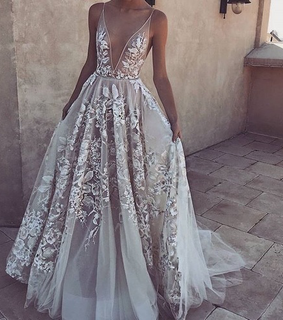 fashion, evening gown and sexy