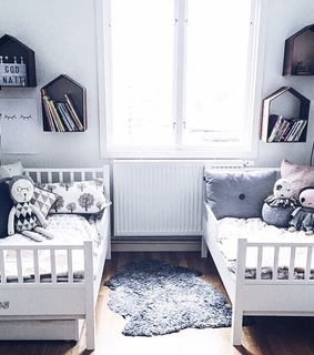 baby, cute and room