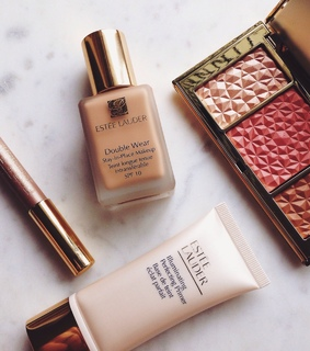 highlighter, makeup and beauty
