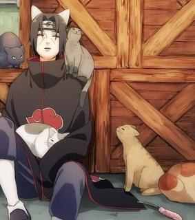 itachi uchiha, sleep and anime boy