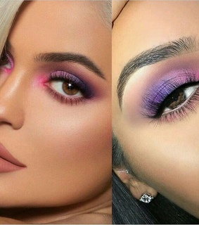 eyes makeup, style and trendy
