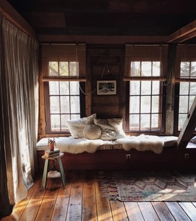 cosy, cabin and fall