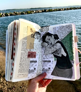 moleskine, journal ideas and creative journaling