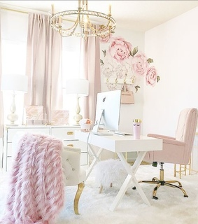 home, pink and room