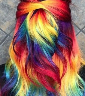 colour, styles and hair