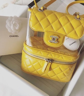 yellow, chanel and fashion