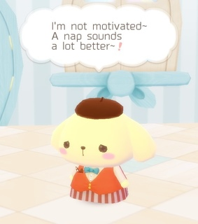 dreams, pompompurin and motivation