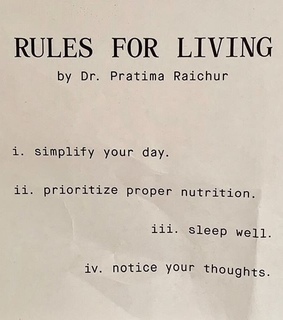 rules, self care and quote