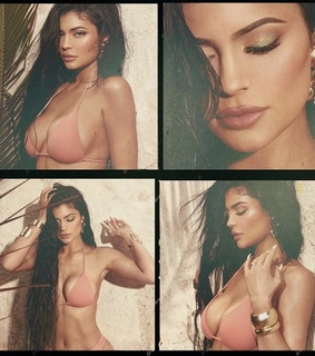 lips, kylie jenner body and make up