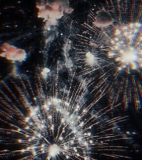 overlay, fireworks and edit