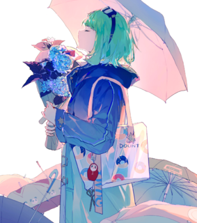 gumi, pastel and artwork