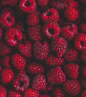fruit, food and raspberry