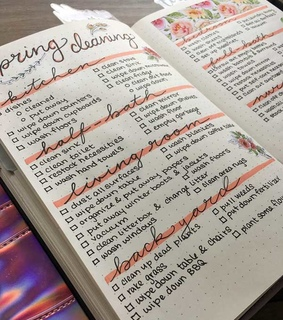 todo, notes and bullet journal