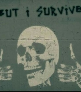 skull, quotes and punk