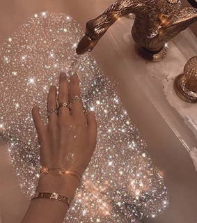 sink, aesthetic and gold