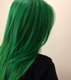 hair, colorful and colourful hair