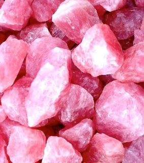 crystals, aesthetic and rose