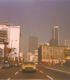 los angeles, cars and street