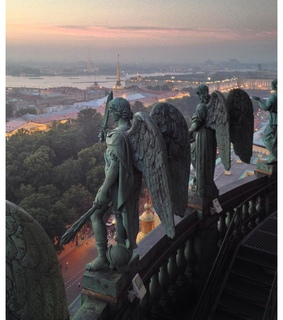 travel, building and saint petersburg