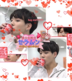 hearts, jeon jungkook and 90's