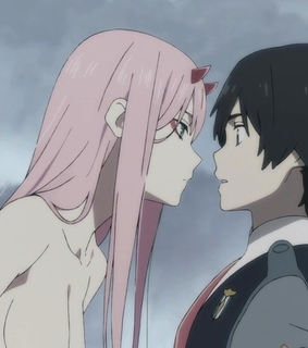anime, zero two and darling in the franxx