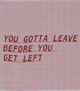 leave and left