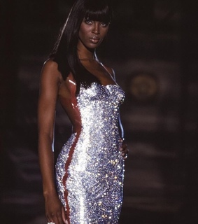 backless, fit and Naomi Campbell