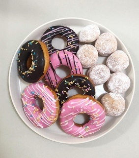 donut, food and sweet