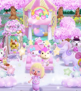 my melody, glitter and unicorn