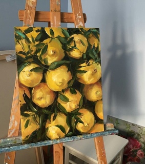 lemons, canvas and realism