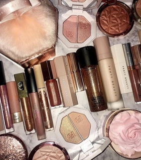 pink gold, aesthetic and fashion