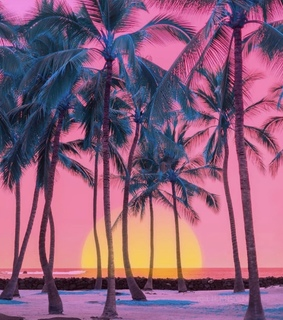 colors, dreams and sunset