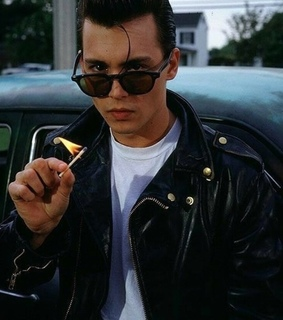 young johnny depp, ? and young stars